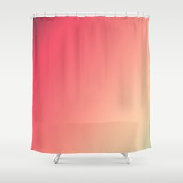 Mandarin Red - Gradients are the new colors Shower Curtain