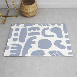 Rock Collection Periwinkle Rug
