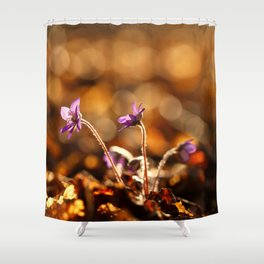 Wonderful Moment In Forest Springtime #decor #society6 Shower Curtain