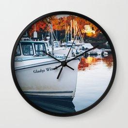 Gladys Winck Wall Clock