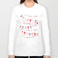 card Long Sleeve T-shirts featuring Hate card by Lime