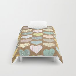 hearts pattern Comforters