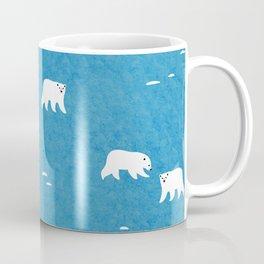 Polar Bears Pattern Coffee Mug