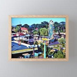 Rocky Point Amusement Park Photograph #1 – Warwick, Rhode Island Framed Mini Art Print