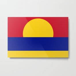 Flag of Palmyra Atoll Metal Print