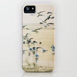 My heart beats in a million gulls iPhone Case