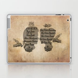 All the names of the Frasers Laptop & iPad Skin