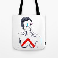 miley Tote Bags featuring Miley by LaraLindsassy