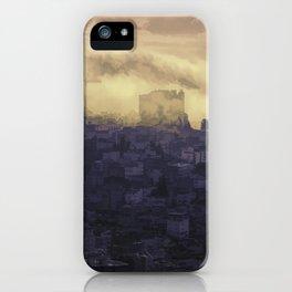 Misty Morning in Nazareth iPhone Case