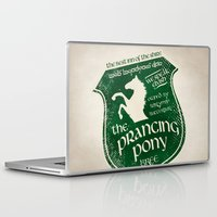 aragorn Laptop & iPad Skins featuring The Prancing Pony Sigil by Nxolab
