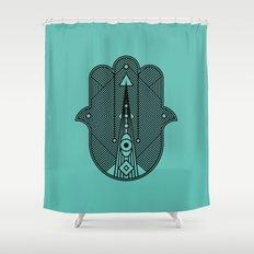 hamsa  Shower Curtain