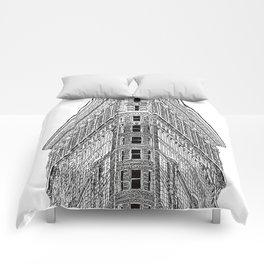 Flatiron Building Comforters