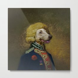 Portrait of Viscount Brock de Wiemer Metal Print