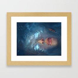 Giant Siren Framed Art Print