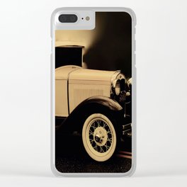 Ford Model A Hotrod Clear iPhone Case