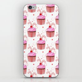 Christmas Cupcakes iPhone Skin