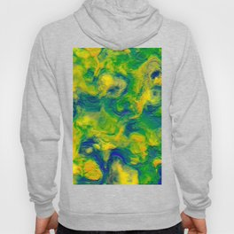 Watercolor Graphical Abstract Art Design Hoody