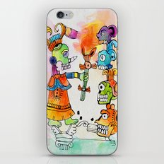 Witchdoctor, inspired by Frida Kahlo iPhone Skin