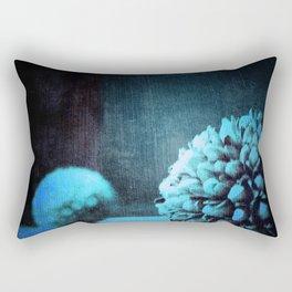 Blue Pods Rectangular Pillow