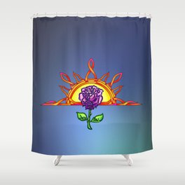 Royal Tudor's Sunrise Shower Curtain