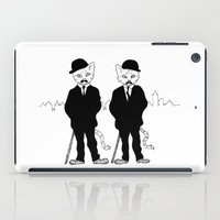 tintin iPad Cases featuring Thomson and Thompson by Hannighan