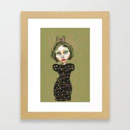 flexible girl Framed Art Print