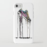 shoe iPhone & iPod Cases featuring SHOE by maivisto