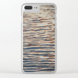 Copper Reflections Clear iPhone Case