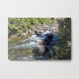 Kern River Rocky Metal Print