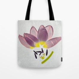 Cuddling Tulips Botanical Blueprints  Tote Bag