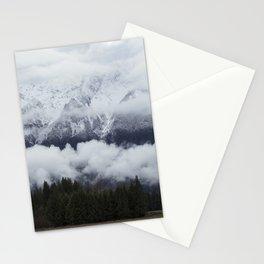 Pemberton glacier Stationery Cards