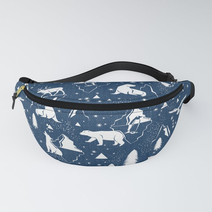 Arctic Circle - Blue Fanny Pack