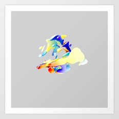 ACRYLIC I Art Print