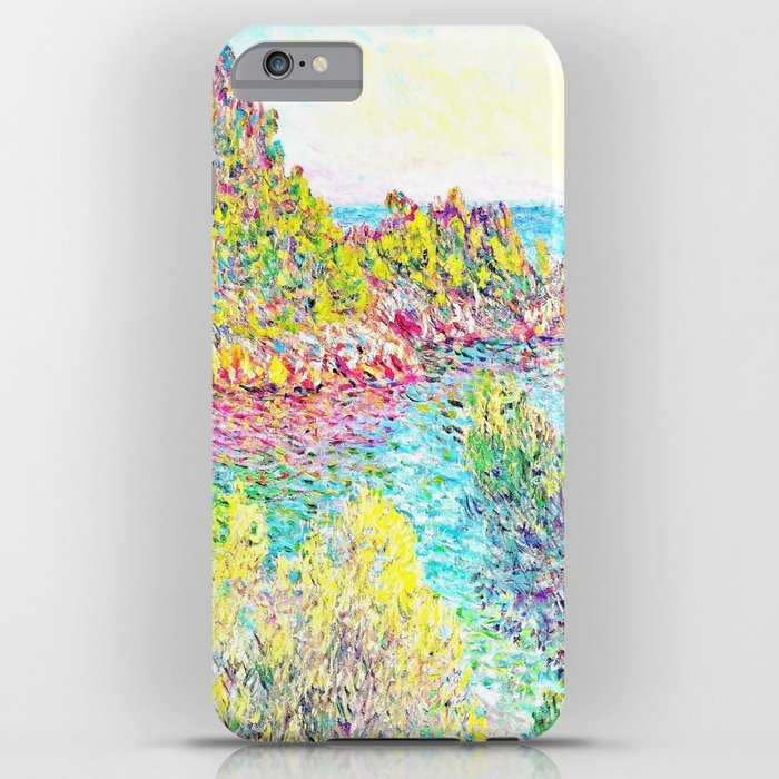 Monet Landscape Near Montecarlo Iphone Case By Purelove