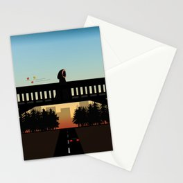 Over the Bridge Stationery Cards