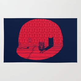 The Midnight Visitor Rug