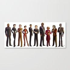 Star Trek: Deep Space Nine Canvas Print
