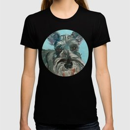 Schnauzer Dog Portrait T-shirt