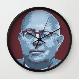 Theodor W. Adorno Wall Clock