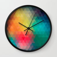 labyrinth Wall Clocks featuring Labyrinth by sophtunes