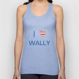 I Heart Wally Unisex Tank Top