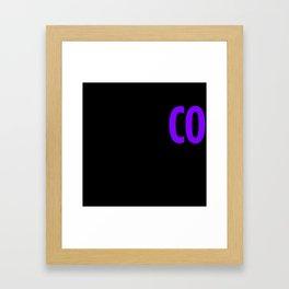 Rothco Press Logo Framed Art Print