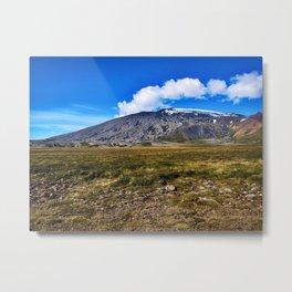 Backside of Snæfellsjökull Volcano/Glacier in West Iceland (2) Metal Print