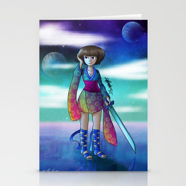 Uranus Princess Stationery Cards