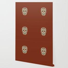 Cráneo de Dulce Pistacho Wallpaper