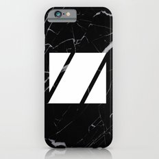 Black Marble - Alphabet Z Slim Case iPhone 6s