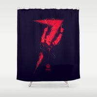 ronaldo Shower Curtains featuring Ronaldo by Andres Moncayo