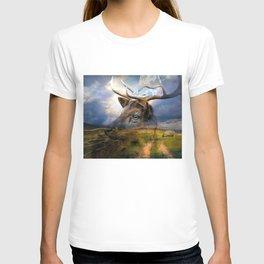 Fallow Deer In Wilderness T-shirt