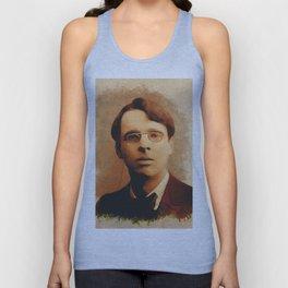 William Butler Yeats, Literary Legend Unisex Tank Top