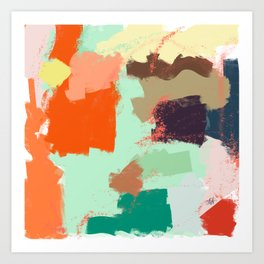 Ambience 040 cicicocolors Art Print